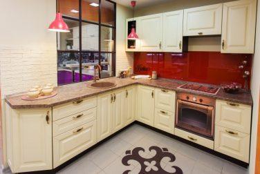 Угловая кухня Аманда