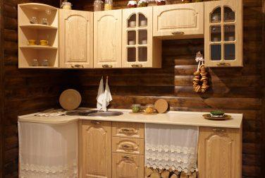 Угловая кухня Деревенька