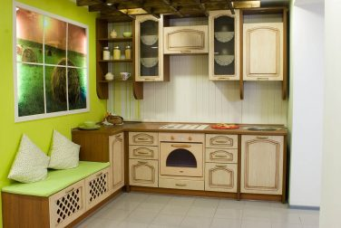 Прямая кухня Палермо